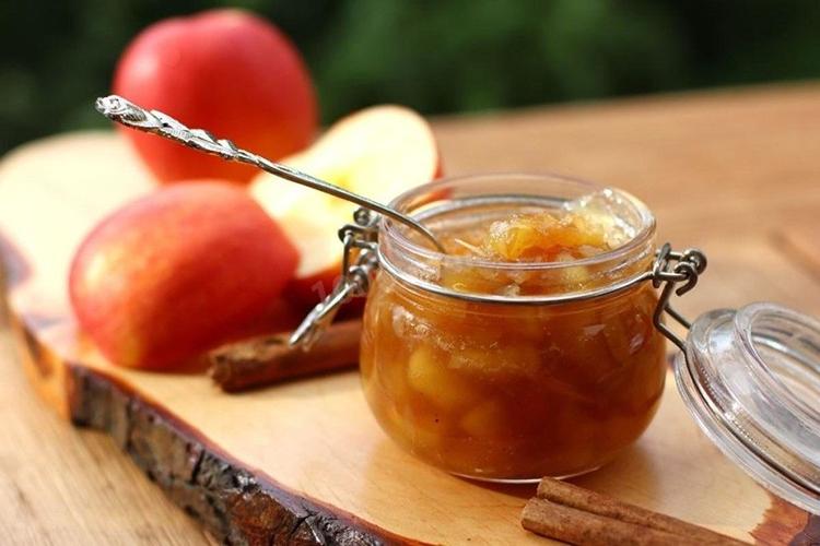 Варенье из яблок простое