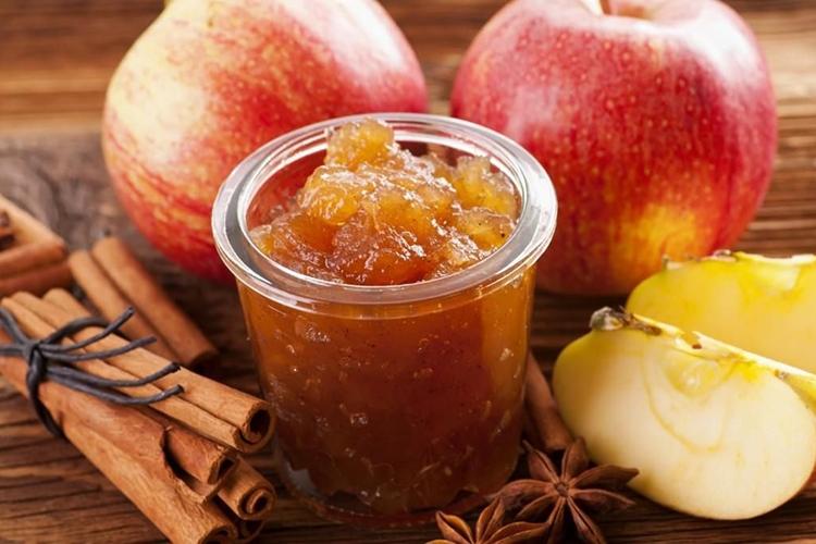 Варенье из яблок с корицей