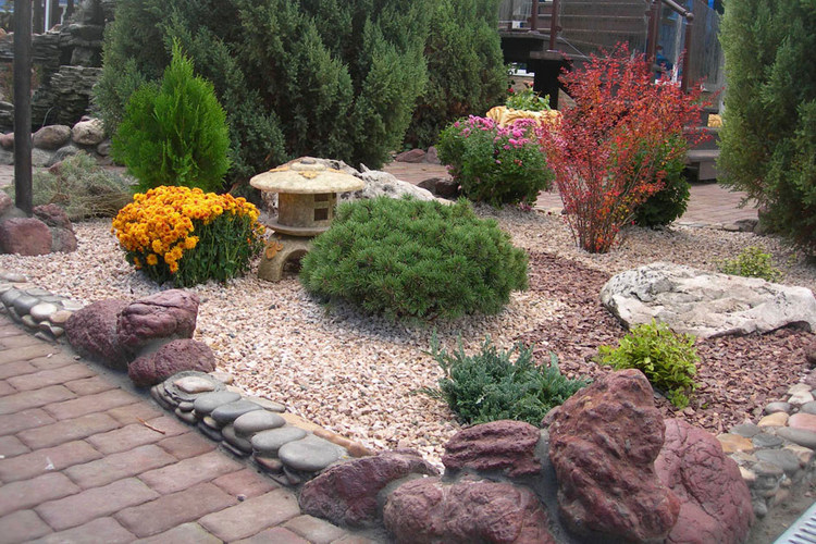 гравфиный сад как разновидность рокария