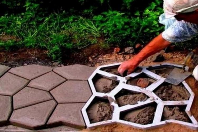 как устанавливать формы под бетон