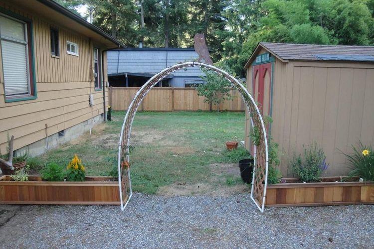 самая простая трубчатая арка