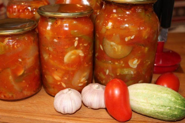 с томатной пастой