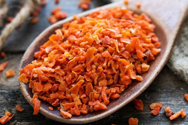 как правильно высушить морковь дома